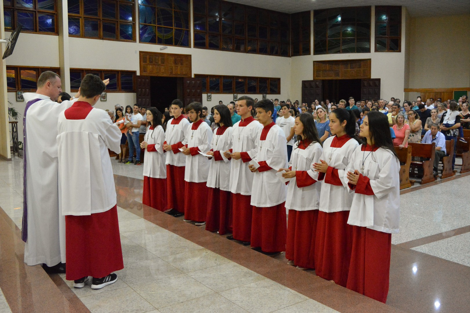 Oração de instituição